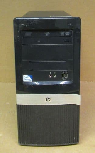 HP Compaq dc2420 Tower PC Pentium DC E5300 2.6GHz 4GB Ram 500GB HDD VC495EA#ABU